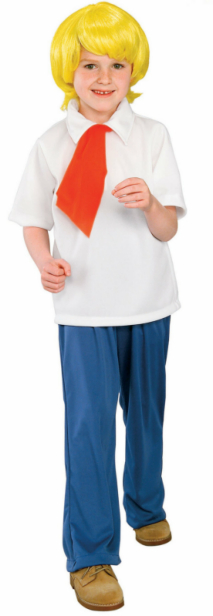 Scooby-Doo Fred Child Costume