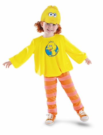 Big Bird Classic Toddler/Child Costume
