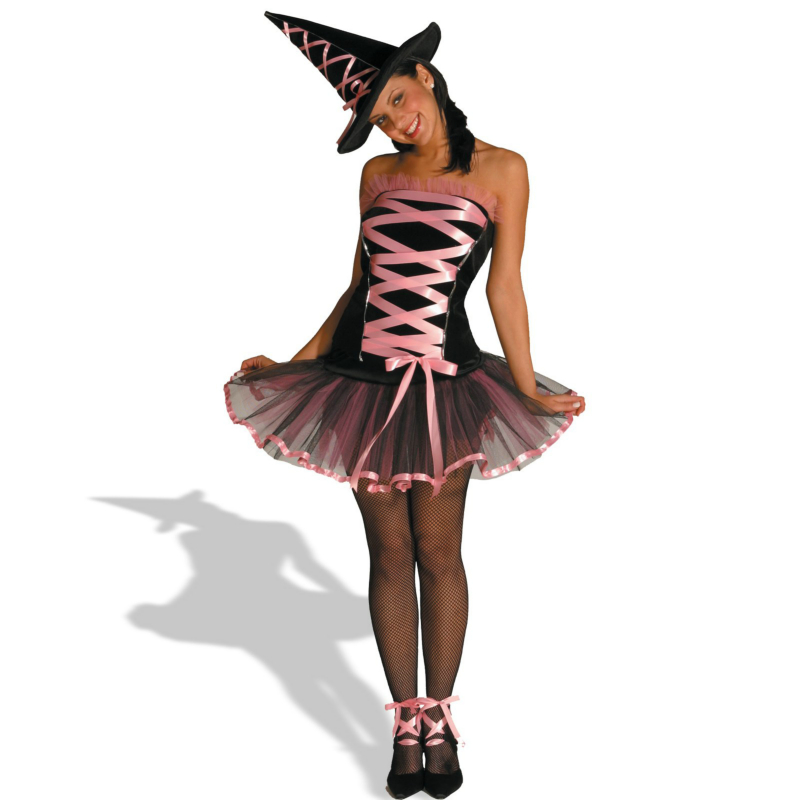 Witchy La Bouf Pink Adult Costume