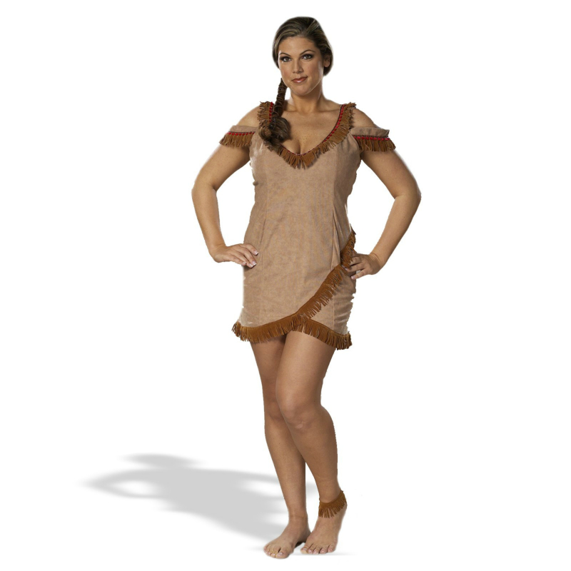Sassy Indian Plus Costume