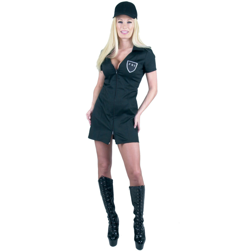 FBI Double Zip Dress Adult