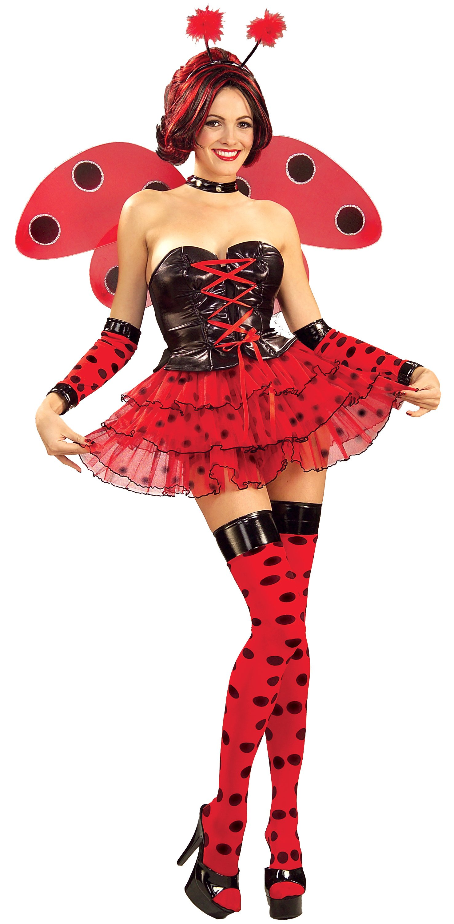 Sexy Lady Bug Adult Costume X-Large 14-18