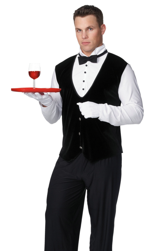 Butler Adult Male Costume