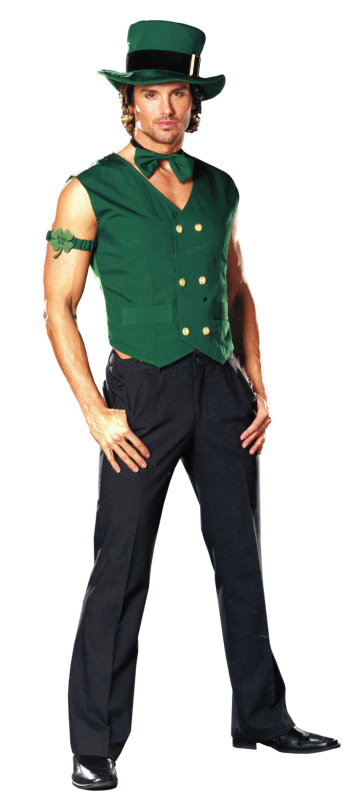 Get Lucky Leprechaun Male Adult Costume