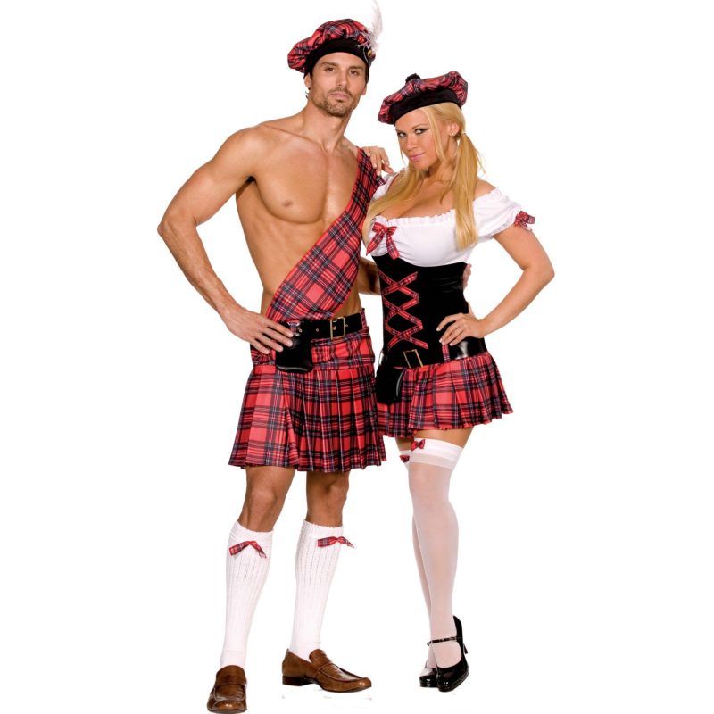Sassy Lassie Adult Costume - Click Image to Close