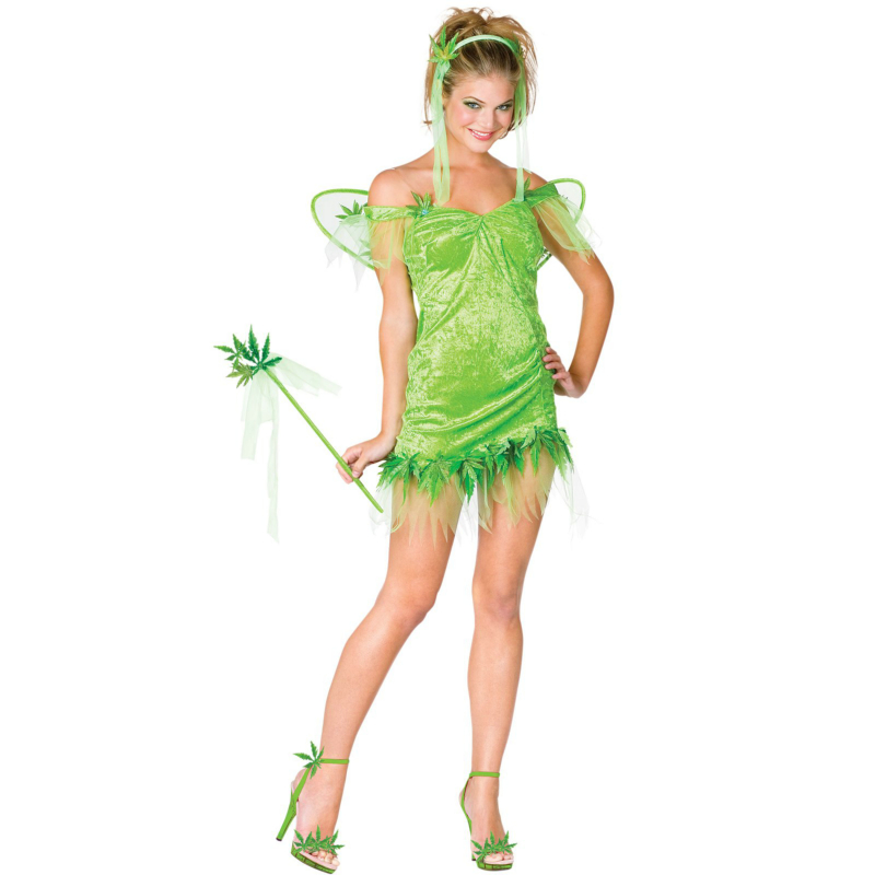 Fun Leaf Fairy Adult Costume