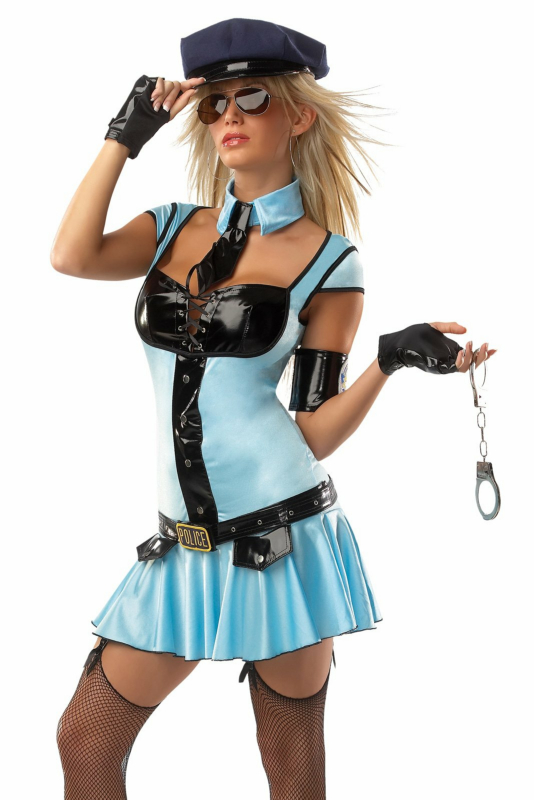 Police Girl Adult Costume