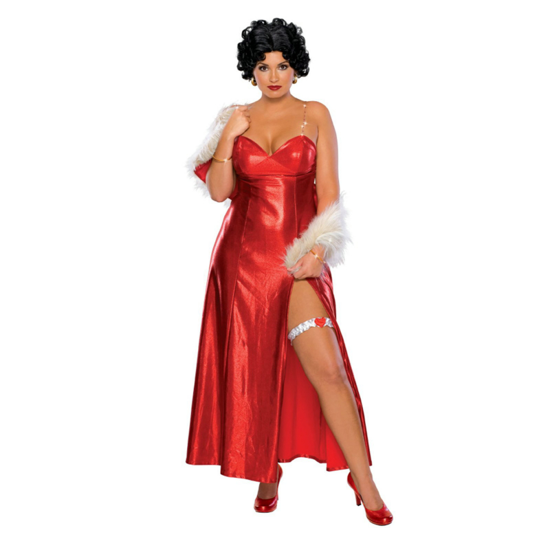 Betty Boop Starlet Plus Adult Costume