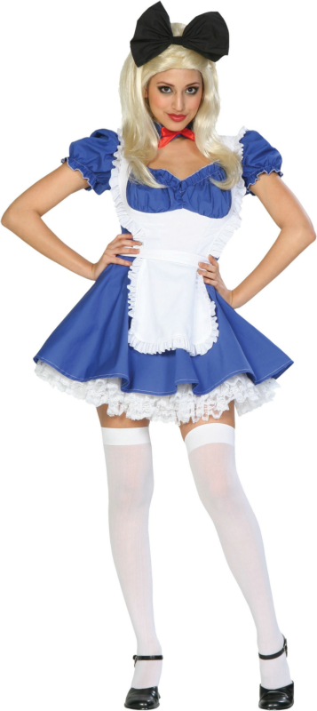 Alice Of Wonderland Adult Costume