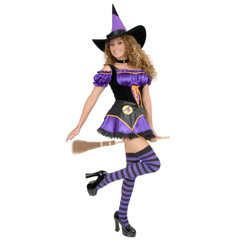 Midnight Witch Adult Costume