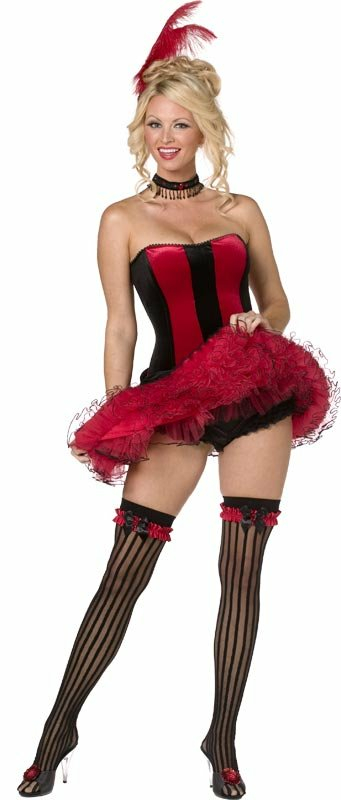 Can Can Sweetie Adult Moulin Rouge Costume