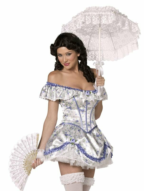 Bijou Southern Belle Adult Costume - Click Image to Close