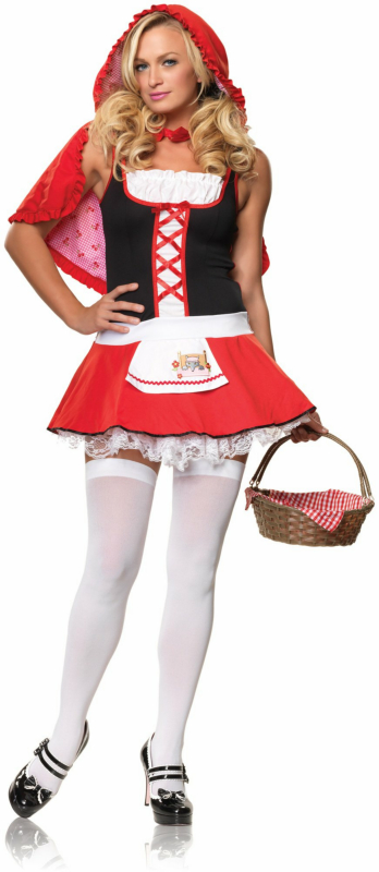 Lil' Miss Red Adult Costume