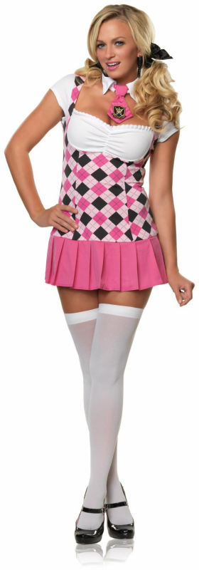 Prep School Cutie Adult Costume