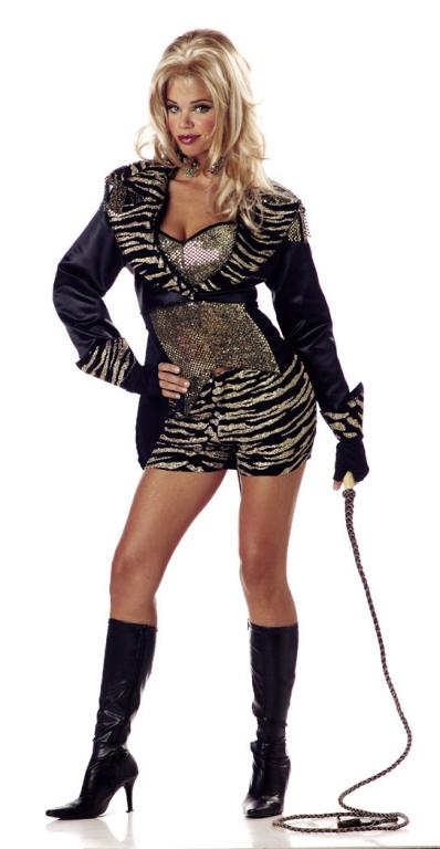 Halloween Costume 398.Leona The Lion Tamer Adult Costume