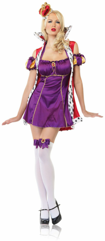 Regal Queen Adult Costume