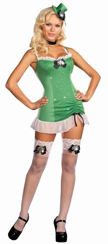 Patti St. Patrick Adult Costume