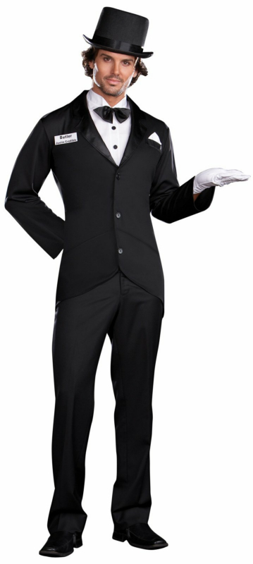 Butler Justin Credible Adult Costume
