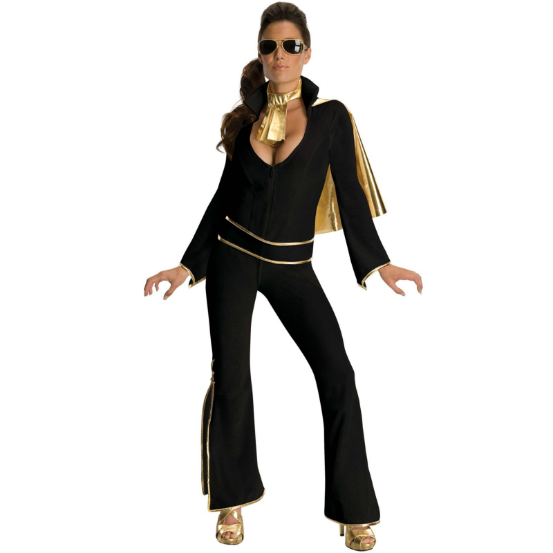 Elvis Black Adult Costume