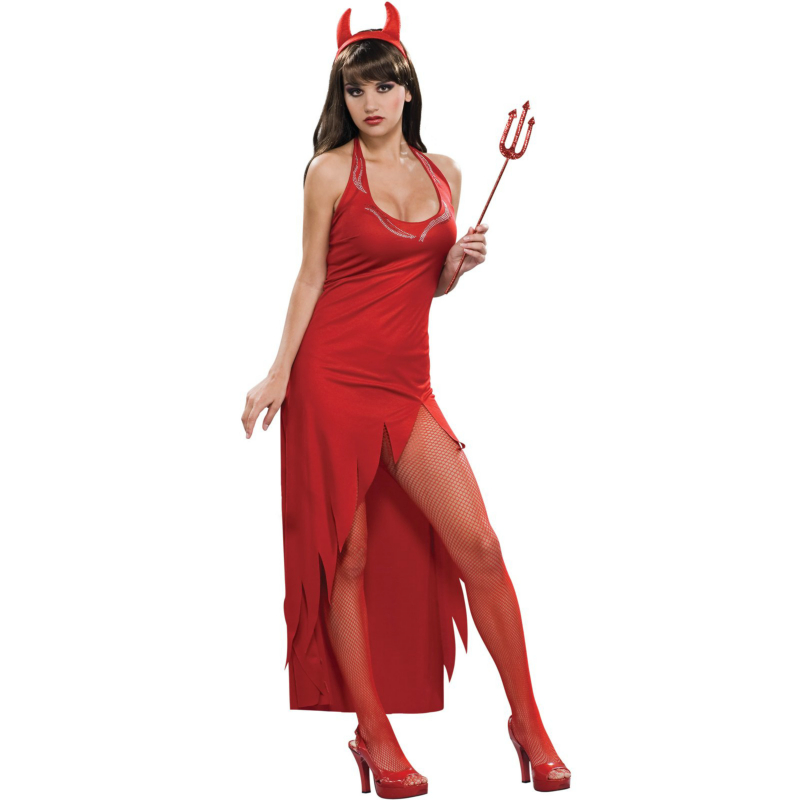 Rhinestone Devil Adult Costume