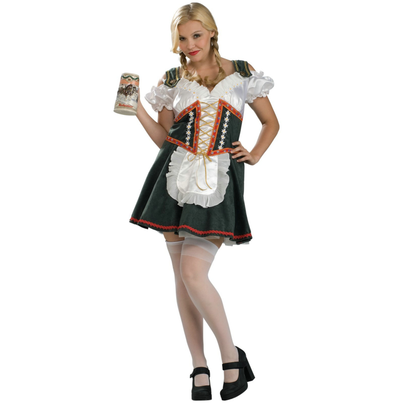 Beer Garden Girl Plus Adult Costume