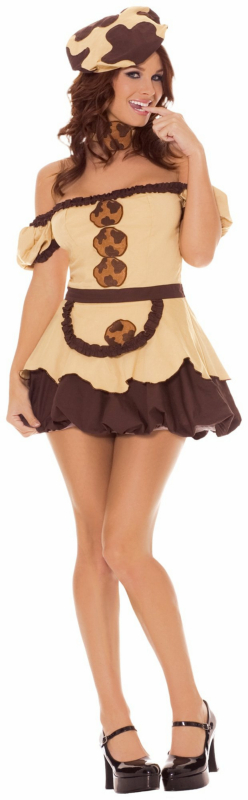 Miss Chocolate Chips Adult Costume