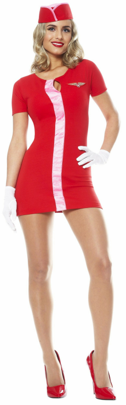 Mod Flight Attendant Adult Costume
