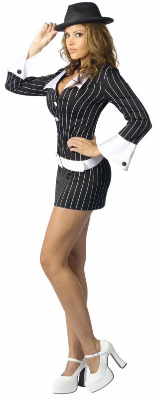 Sexy Gangster Adult Costume