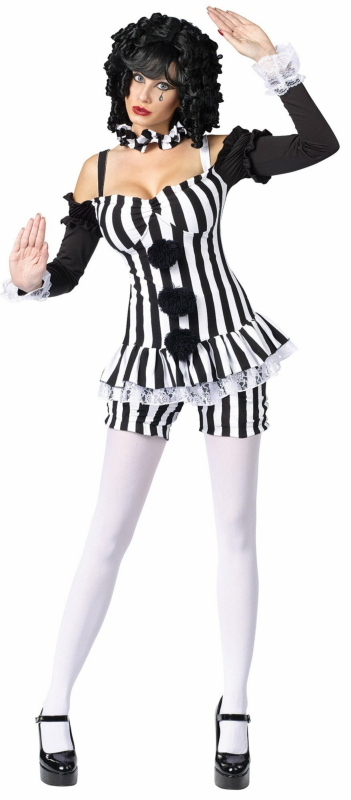 Merry Mime Adult Costume