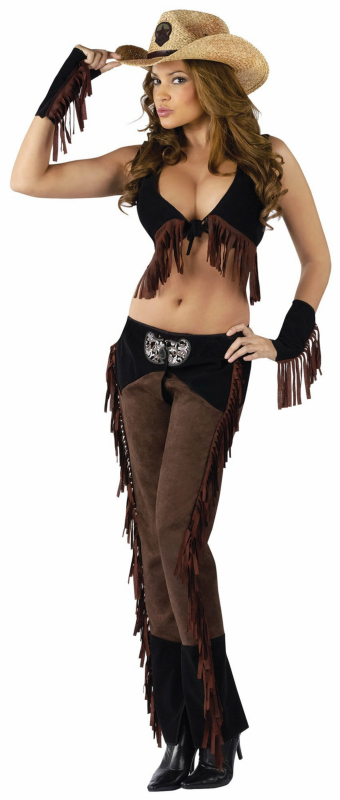 Ride 'em Cowgirl Adult Costume