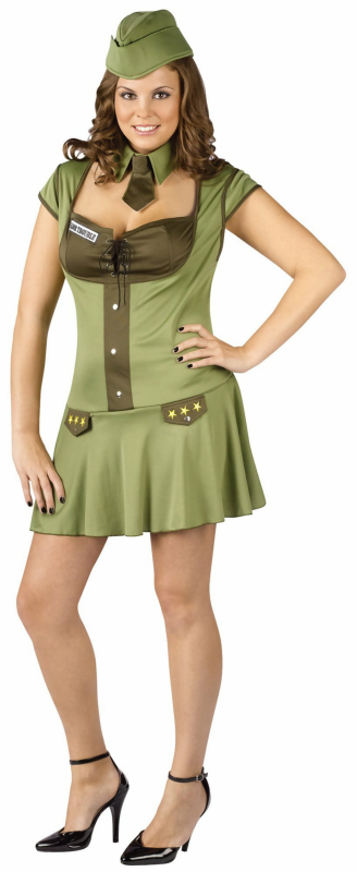Major Trouble Adult Plus Costume