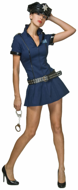 Police Babe Adult Plus Costume