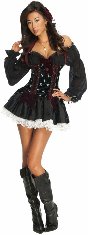 Playboy Swashbuckler Pirate Adult Costume