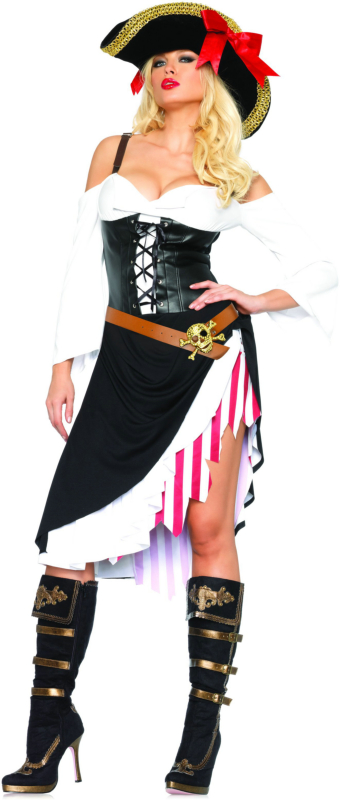 Sultry Swashbuckler Adult Costume
