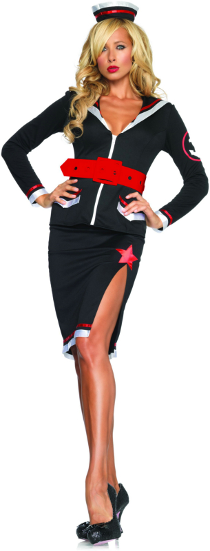Sultry Sailor Adult Costume