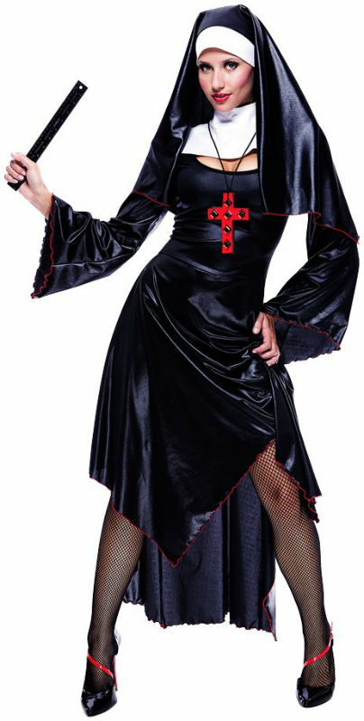 Naughty Nun Adult Costume