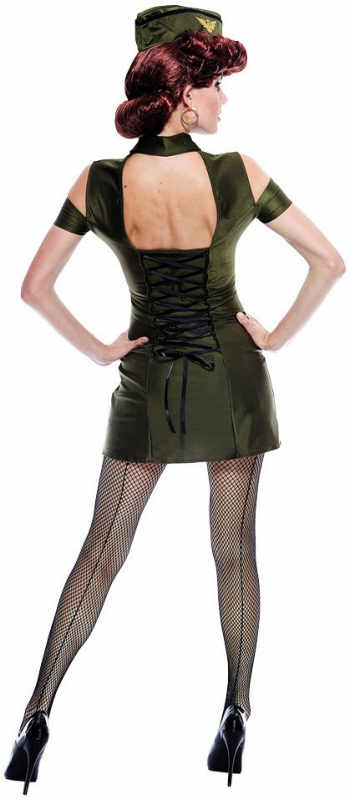Bombshell Babe Adult Costume - Click Image to Close