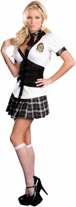 NYC Prep School Girl Adult Costume