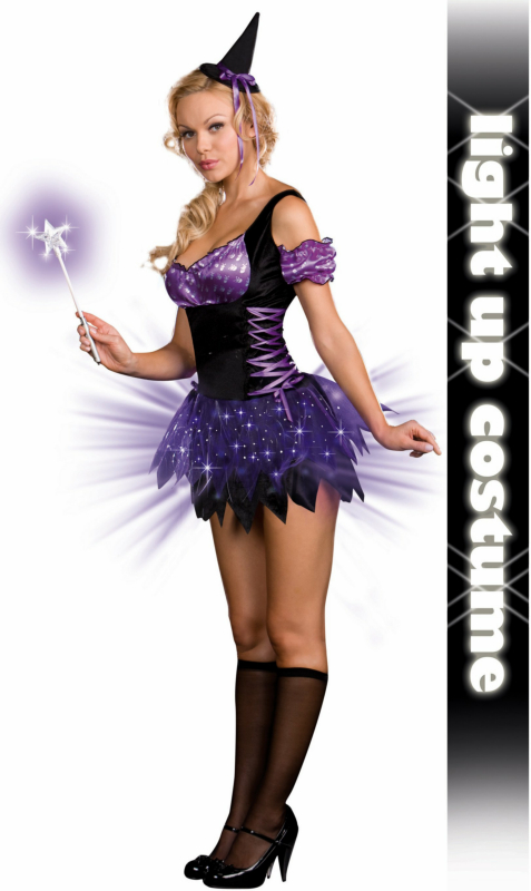 Switch Witch (Light-Up) Adult Costume