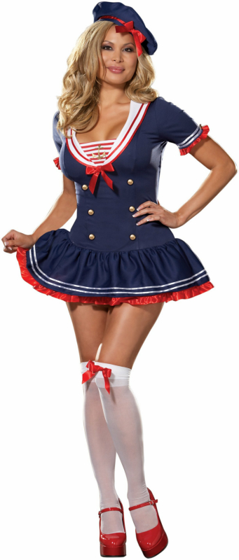 Hello Sailor Plus Adult Costume