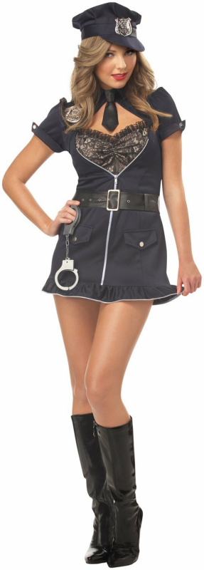 Candy Cop Plus Adult Costume