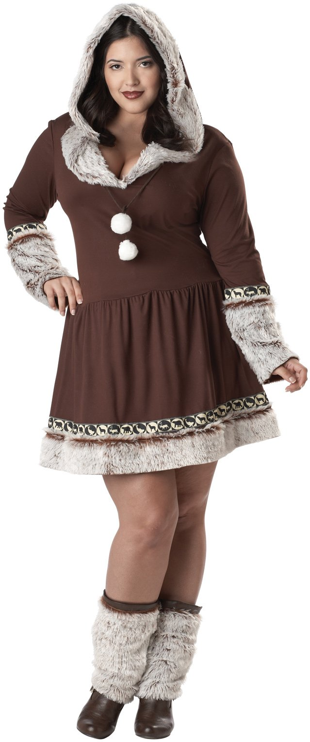 Eskimo Kiss Adult Plus Costume