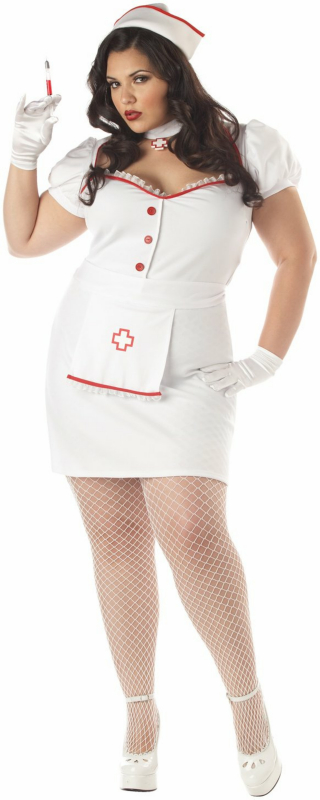 Nurse Natasha Plus Adult Costume