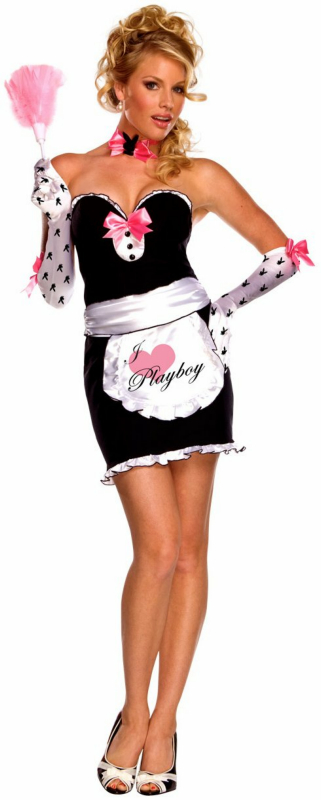 Playboy Mansion Maid Adult Costume