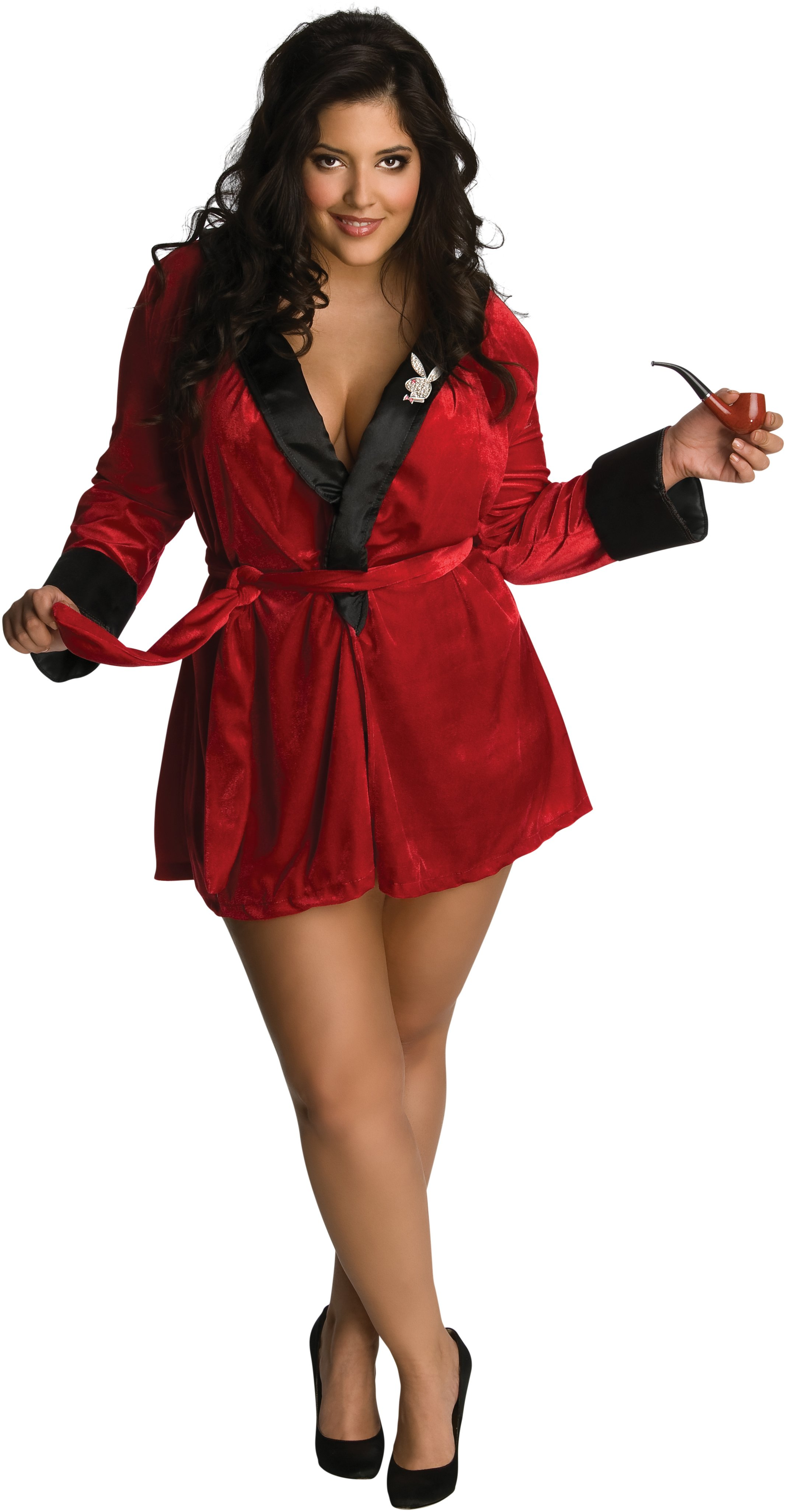 Playboy - Sexy Girlfriend (Red) Adult Plus Costume