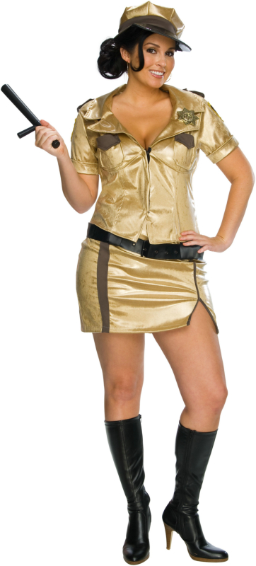 Reno 911 - Deputy Johnson Plus Adult Costume