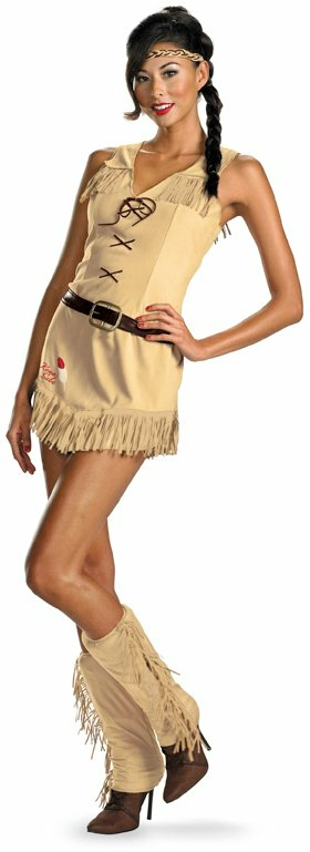 The Lone Ranger - Sexy Tonto Adult Costume