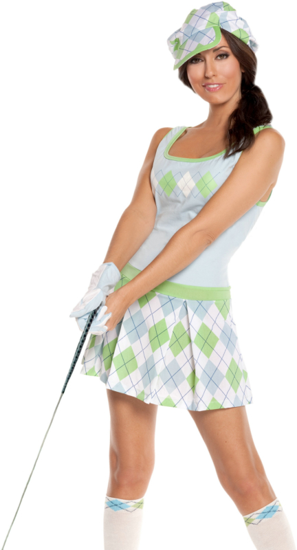 Golf Tease Adult Costume
