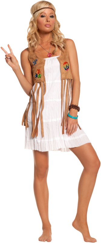Sexy Flower Child Adult Costume