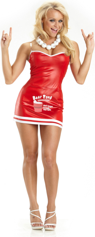 Beer Pong Babe Adult Costume
